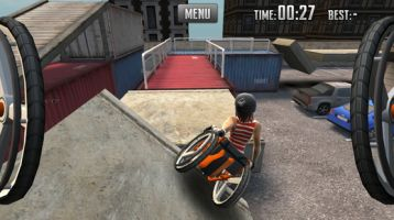 Screenshot der App Extreme Wheelchairing
