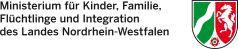 Logo Ministerium für Kinder, Familie, Flüchtlinge und Integration des Landes Nordrhein-Westfalen