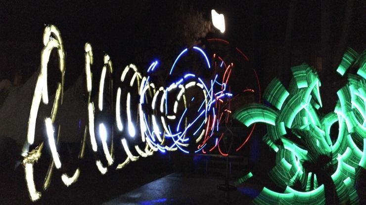 Lightpainting-Motiv