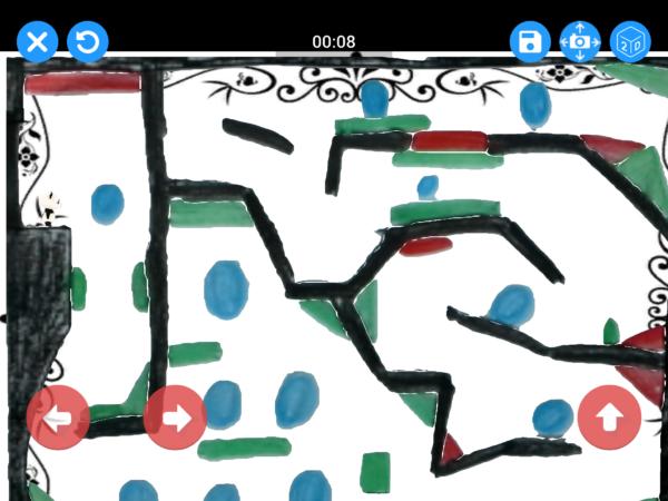 ein gezeichnetes Level in Draw Your Game